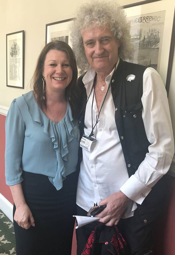 sue hayman and brian may oppose badger cull